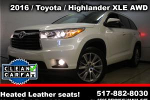 2016 Toyota Highlander XLE AWD 4dr SUV SUV 4-Door Automatic 6-Speed
