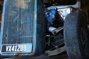 1940 Ford pickup V8 ratrod hotrod unfinished project ute