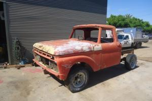 1966 65 ford f100 short bed not f250 f350 f150 truck no reserve