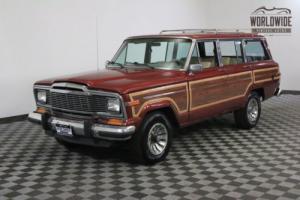 1984 Jeep Wagoneer CLEAN! A/C. V8. NEW INTERIOR. MUST SEE Photo