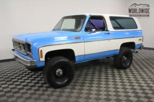 1973 GMC Jimmy 4x4. FULL CONVERTIBLE TOP! V8. AUTOMATIC