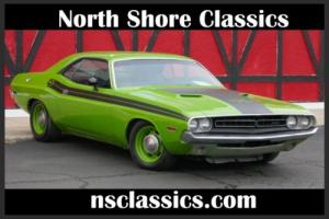 1971 Dodge Challenger -4 SPEED WITH 383 BIG BLOCK-CALI CAR-RT TRIBUTE-SO