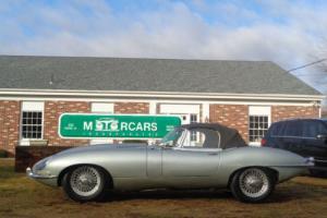 1967 Jaguar E-Type 1967 Jaguar E-Type-Series 1 OTS-Roadster-Convertib Photo