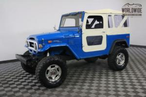 1972 Toyota Land Cruiser RESTORED. 4 WHEEL DISC. V8. FUEL INJECTION