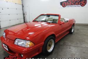 1987 Ford Mustang McLaren Runs Drives Body Interior VGood 5LV8 Auto
