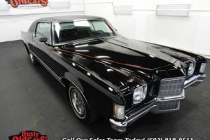 1972 Pontiac Grand Prix Runs Drives Body Int Vgood 400CIV8 3 spd Auto