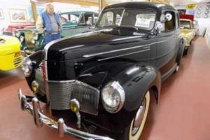 1940 Studebaker 2Dr Coupe - Utah Showroom Photo