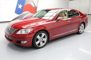 2011 Lexus LS COMFORT SUNROOF CLIMATE SEATS NAV