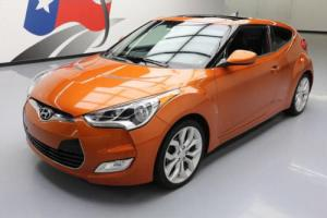 2012 Hyundai Veloster 6-SPEED PANO ROOF ALLOYS