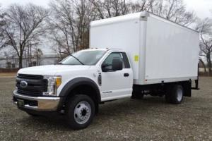 2017 Ford F-550 16 Foot Box Truck w Rollup Door