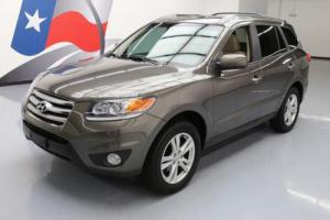 2012 Hyundai Santa Fe LIMITED HTD LEATHER SUNROOF