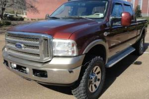 2005 Ford F-250 KING RANCH FX4 4WD 4X4 OFF ROAD POWERSTROKE DIESEL