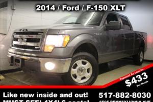 2014 Ford F-150 XLT 4x4 4dr SuperCrew Styleside 5.5 ft. SB 4-Door