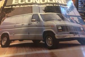 1986 Ford E-Series Van
