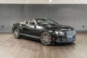 2014 Bentley Continental GT Speed Convertible 2dr Convertible