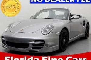 2011 Porsche 911 2dr Cabriolet S Turbo