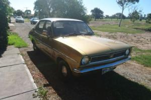 Holden LJ Torana 4 cylinder 4 door sedan deceased estate