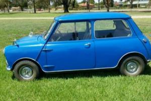 1962 Blue Morris Mini Sedan