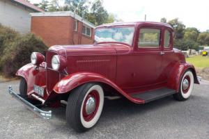 1932 FORD V8 5 window coupe Hot Rod 283 Chev 4 speed