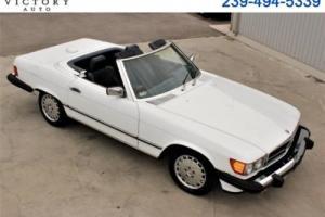 1986 Mercedes-Benz 500-Series SL