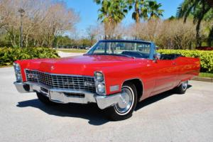 1967 Cadillac DeVille Convertible Absolutely Gorgeous Caddy! One Owner!