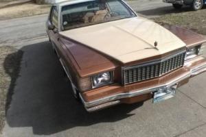 1979 Chevrolet Monte Carlo sport coupe