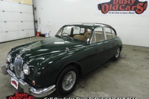 1966 Jaguar MKII Runs Drives Body Int Excel RHD Show Ready Photo