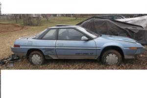 1987 Subaru XT__XG4