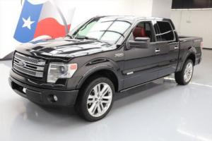 2013 Ford F-150 LIMITED CREW ECOBOOST SUNROOF NAV