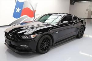 2015 Ford Mustang 5.0 GT 6-SPEED REAR CAM 19'S