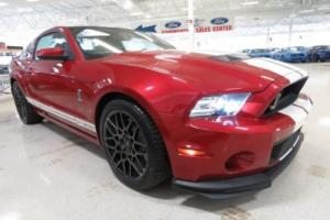 2013 Ford Mustang Shelby GT500 Coupe Sport Car RWD 5.8L Supercharged