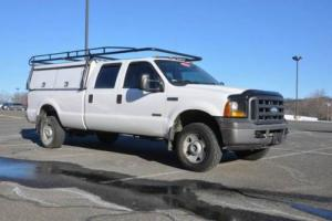 2007 Ford F-350 XL 4X4 Crew Cab 1 Ton 6.0L Powerstroke ARE Cap 92K