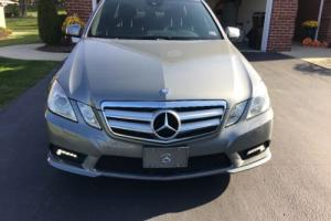 2011 Mercedes-Benz E-Class AMG Sport Package