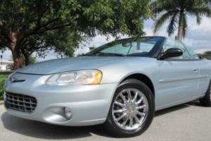 2001 Chrysler Sebring Sebring Limited