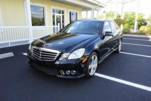 2010 Mercedes-Benz E-Class E350 Luxury Sedan with Sport Package
