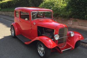 1932 Ford Victoria Hotrod V8 Steel