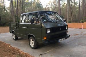 1980 Volkswagen Bus/Vanagon CREW CAB DOKA DIESEL PICK UP T3/T25