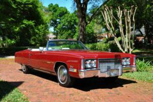 1972 Cadillac Eldorado Convertible Ready to Enjoy!