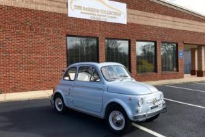 1963 Fiat 500 --