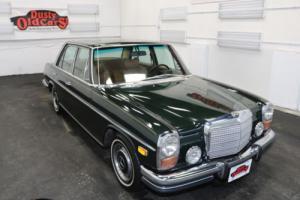 1973 Mercedes-Benz 200-Series Runs Drives Body Int VGood 2.8L I6 3 spd auto Photo