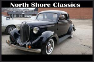 1938 Plymouth Business Coupe -ORIGINAL SUPERB CONDITION-A RARE FIND-RUNS/DRIVES Photo