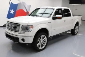 2014 Ford F-150 LTD CREW 4X4 ECOBOOST SUNROOF NAV