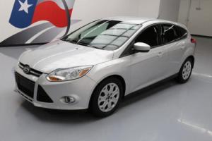 2012 Ford Focus SE HATCHBACK 5-SPEED CD AUDIO