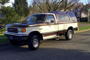 1990 Ford F-350 1 OWNER 4WD SOLID AXLE DANA 60 SUPER NICE