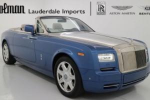 2014 Rolls-Royce Phantom Drophead Coupe Convertible 2-Door