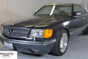 1991 Mercedes-Benz 560SEC Coupe