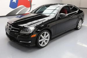 2015 Mercedes-Benz C-Class C350 COUPE SUNROOF NAV RED SEATS