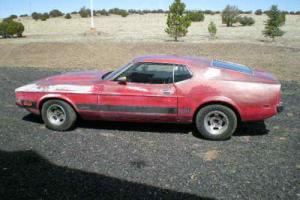 1973 Ford Mustang Mach 1 Photo