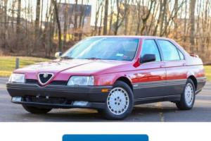 1991 Alfa Romeo 164 Photo