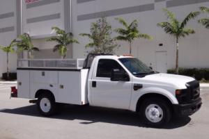 2008 Ford F-350 Service Utility Body FL Fleet Truck